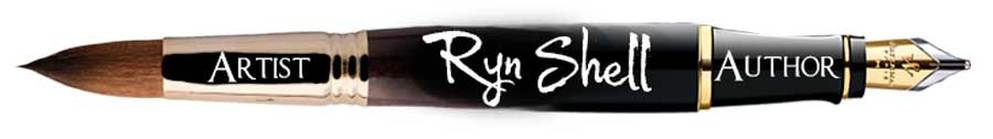 Ryn Shell artist author, A Creative Life.